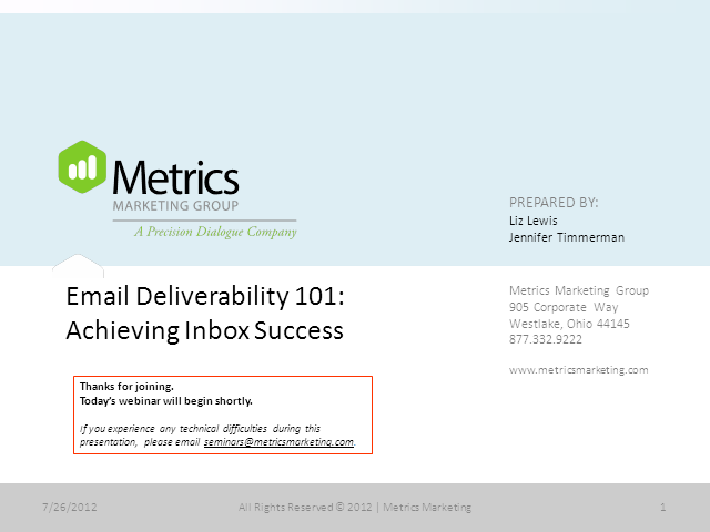 Email Deliverability 101: Achieving Inbox Success