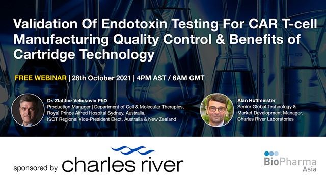Validation Of Endotoxin Testing For CAR T-cell Manufacturing Quality Control...