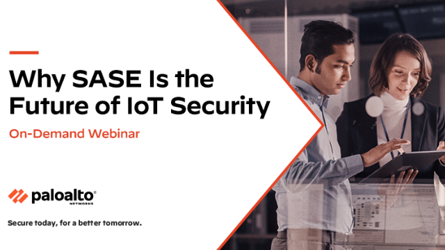 Why SASE is the Future of IoT Security
