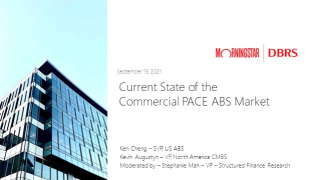 Frontline Perspectives Webinar: Current State of the C-PACE ABS Market
