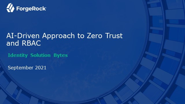AI-Driven Approach to Zero Trust and RBAC