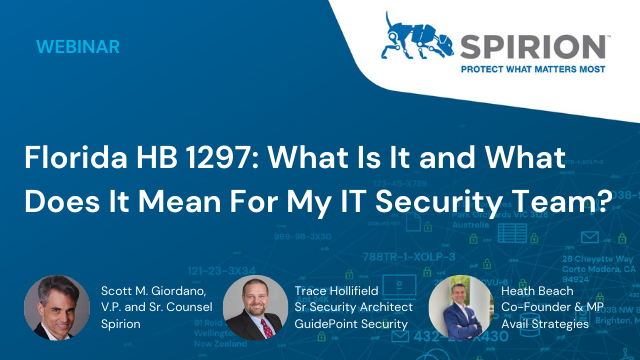 Florida HB 1297: What Is It and What Does It Mean For My IT Security Team?