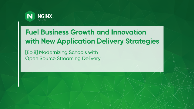 [Ep.8] Modernizing Schools with Open Source Streaming Delivery