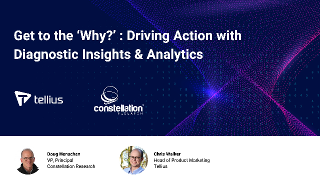 Get to the 'Why?' : Driving Action with Diagnostic Insights & Analytics