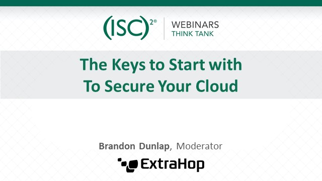 The Keys to Start with To Secure Your Cloud