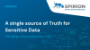 A single source of truth for sensitive data: Managing cyber and privacy risks
