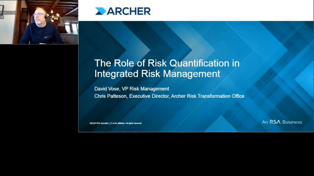 The Role of Risk Quantification in Integrated Risk Management