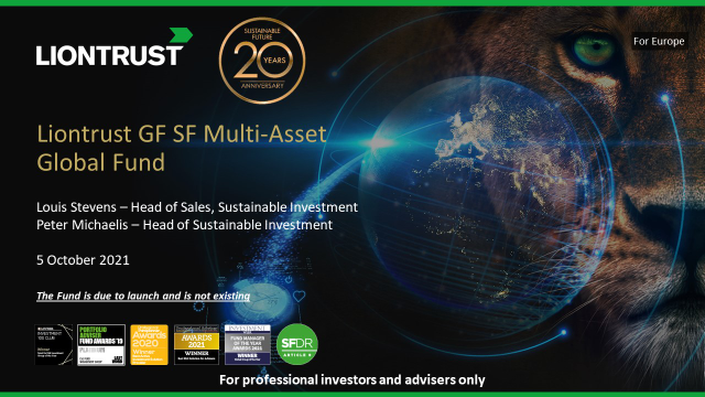New Fund Launch: GF Sustainable Future Multi-Asset Global Fund