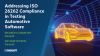 ISO 26262 Compliance in Testing Automotive Software