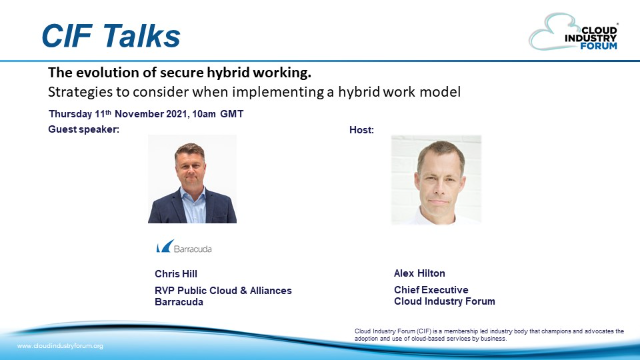 The Evolution of Secure Hybrid Working