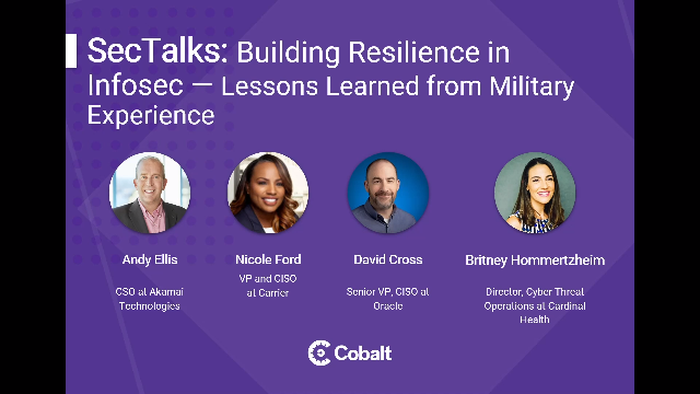 Building Resilience in Infosec: Lessons Learned From Military Experience