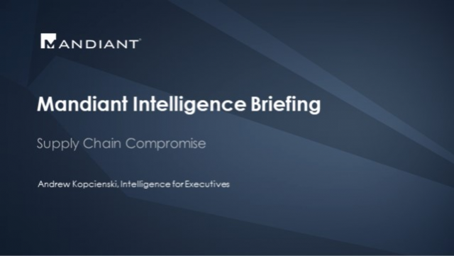 Mandiant Intelligence Briefing: Stories Directly From The Frontline