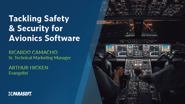 Tackling Safety & Security for Avionics Software