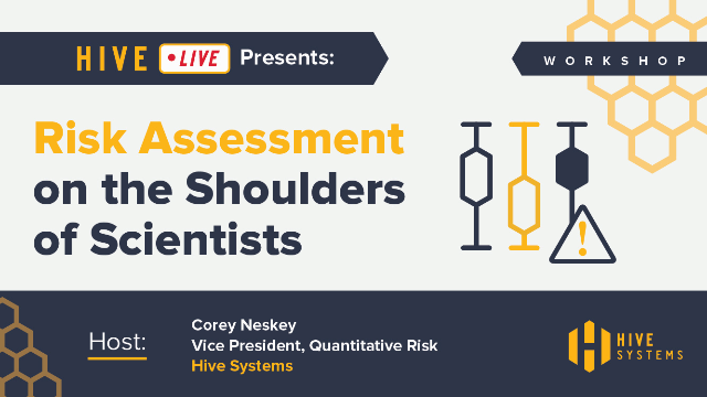 Risk Assessment on the Shoulders of Scientists