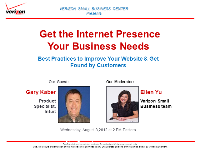 Get the Internet Presence Your Business Needs