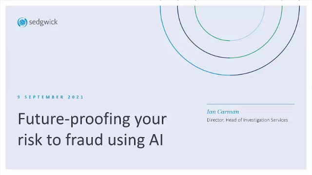 Future-proofing your risk to fraud using AI