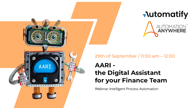 AARI – the Digital Assistant for your Finance Team
