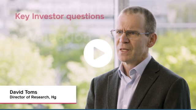 Hg's David Toms talks about the acceleration to cloud software