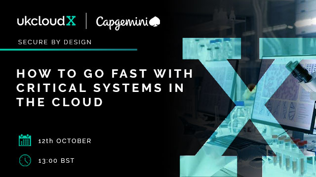 How to go fast with critical systems in the cloud