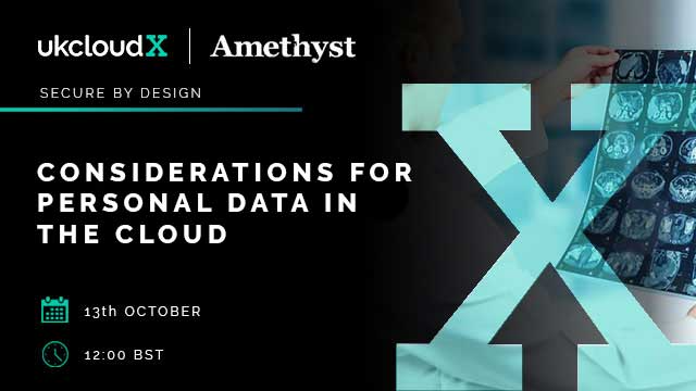 Considerations for personal data in the cloud