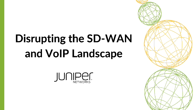 Disrupting the SD-WAN and VoIP Landscape