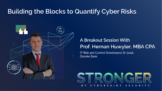 Building the Blocks to Quantify Cyber Risks