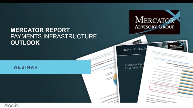 Payments Infrastructure Outlook: Real-Time Payments Takeover