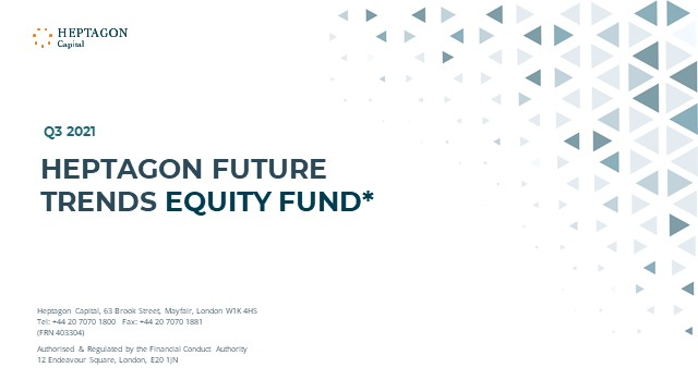 Heptagon Future Trends Equity Fund Q3 2021 Webcast