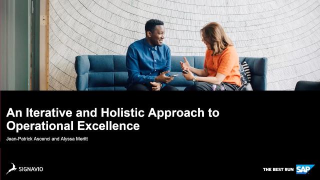 An Iterative and Holistic Approach to Operational Excellence