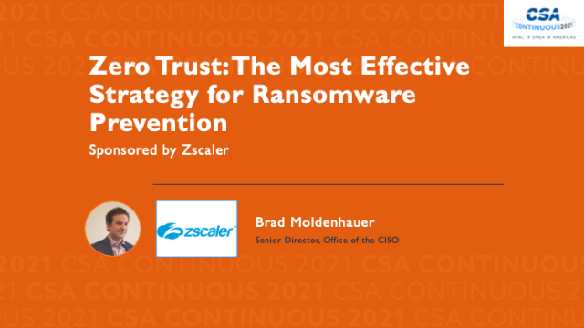 Zero Trust: The Most Effective Strategy for Ransomware Prevention