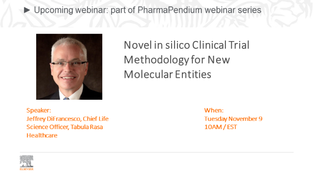 Novel in silico Clinical Trial Methodology for New Molecular Entities
