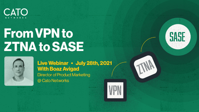 The Evolution of Remote Access: From VPN to ZTNA to SASE