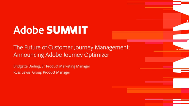 The Future of Customer Journey Management: Announcing Adobe Journey Optimizer