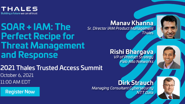 SOAR + IAM: The Perfect Recipe for Threat Management and Response