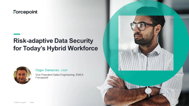 Risk-adaptive Data Security for Today's Hybrid Workforce.