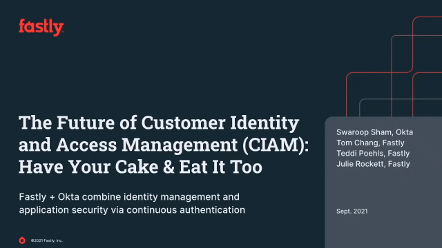 The Future of Customer Identity and Access Management (CIAM)