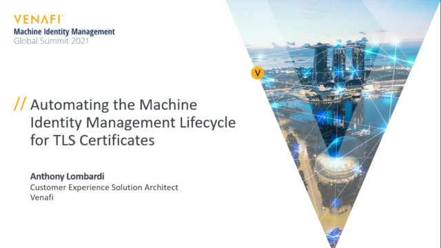 Automating the Machine Identity Management Lifecycle for TLS Certificates