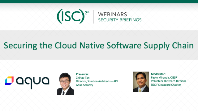 Securing the Cloud Native Software Supply Chain