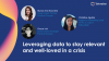 Leveraging data to stay relevant and well-loved in a crisis