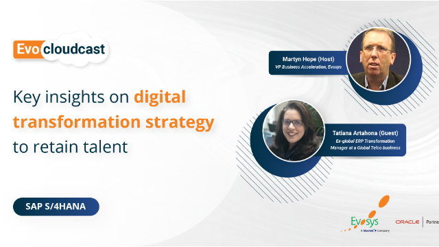 Episode 3 | Key insights on digital transformation strategy to retail talent
