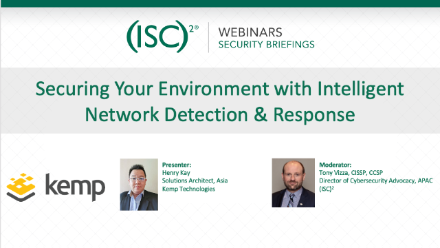 Securing Your Environment with Intelligent Network Detection & Response