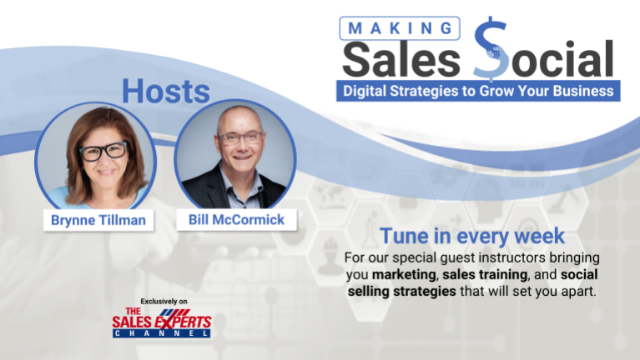 Making Sales Social: Digital Strategies to Grow Your Business - Episode 48