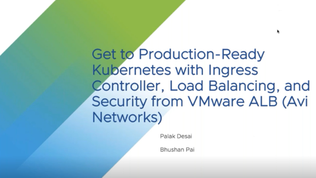 Get to Production-Ready Kubernetes with Ingress Controller, Load Balancing