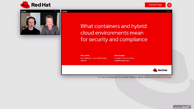 What containers and hybrid cloud environments mean for security and compliance
