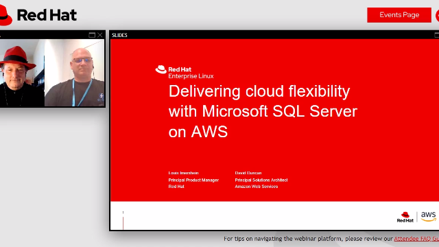 Delivering cloud flexibility with Microsoft SQL Server on AWS