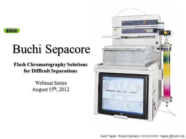 Sepacore® Flash Chromatography Solutions