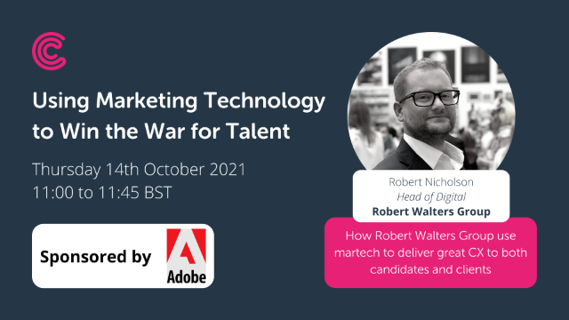 Using Marketing Technology to Win the War for Talent