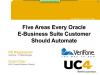 Five Areas Every Oracle E-Business Suite Customer Should Automate