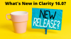 What's New in Clarity 16.0?