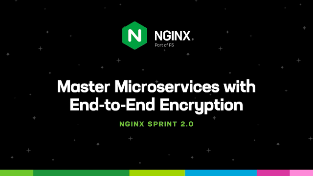 Master Microservices with End-to-End Encryption